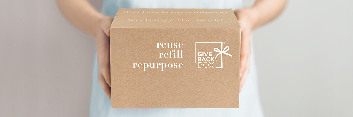 reuse refill repurpose give back box